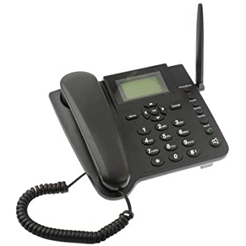 Teléfono con tarjeta Sim GSM, fijo, de mesa o escritorio. TIM, Vodafone Wind Quadband