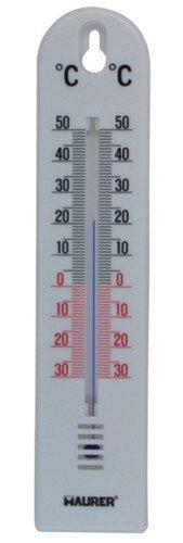 Termometro Maurer Parete Plastica Cm 200X4, 5 Linea Casa