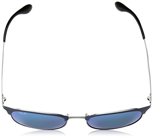 BLUE TOP BLUE GUNMETAL Sonnenbrille GUNMETAL Ray RB 3538 Ban ON TOP ON IfWzXO