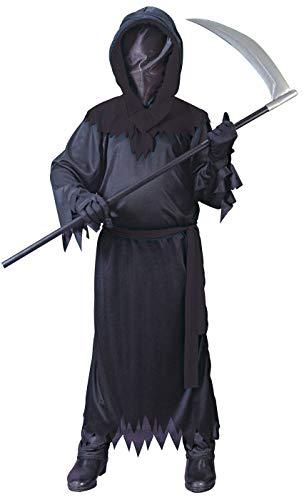 Big Boys' Black Faceless Ghost Costume -