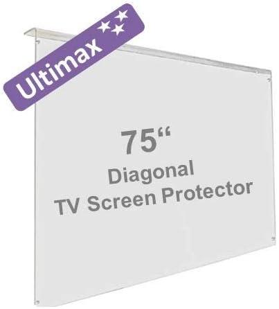 75 Pulgadas Ultimax Protector de Pantalla de la televisor: Amazon ...