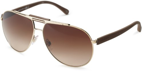D&G Dolce & Gabbana 0DG2119 119013 Aviator Sunglasses,Pale Gold,62 - D&g 2013 Sunglasses