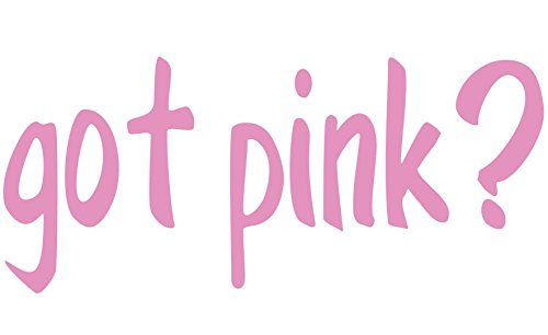 Got Vehicle - Breast Cancer Got Pink Candy Pink Decal Sticker Vehicle Car Truck Window Wall Laptop Outdoor CHOOSE Size