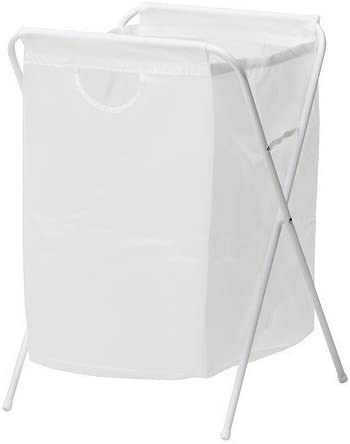 Ikea JALL-Laundry Bag with Stand white-70 l 80 cm