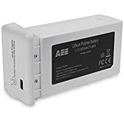 AEE Technology AD02 Drone Accessory Intelligent AP11 Replacement Lithium Polymer Battery, 6800 mAh, White