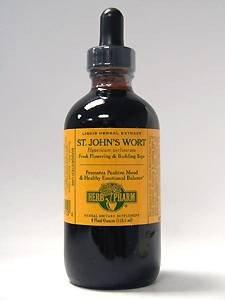 Extrait de Wort Supplément de Herb Pharm St. John, 4 once