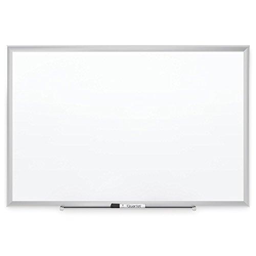 Quartet Porcelain Whiteboard, Magnetic Dry Erase Board, Premium, 8' x 4', DuraMax, Silver Aluminum Frame (International Porcelain)