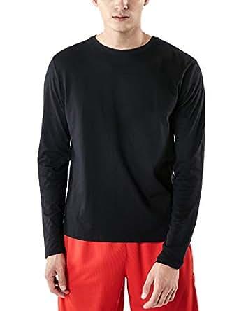 Tesla TSLA Men's Dynamic Cotton Cool Casual Basic Active Shirt MTL50-BLK