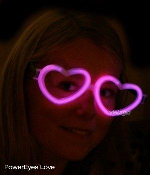 Lot de 10 paires de Lunettes Fluo Coeur Rose - idéal pour vos soirées 93fc5b210e8b