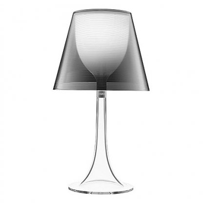 Miss K Table Lamp   Silver Clear By Flos