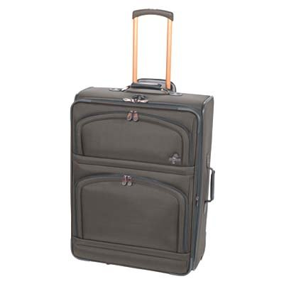 Atlantic Infinity Elite 28″ Expandable Upright Suiter – Ballistic Nylon – Denim – Denim, Bags Central