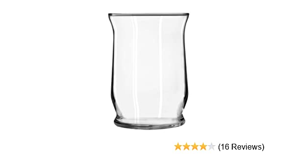 Amazon Libbey Adorn 8 Glass Hurricane Vase Industrial