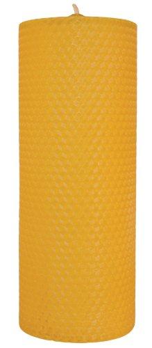 10 Stück Palettas Wabenkerze handgedrehte Kerze Ø 30 mm h 100 mm 100% Bienenwachs