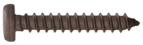 The Hillman Group 3560 8-32 By 1-Inch Stainless Hex Washer Head Slotted Metal Screw 15-Pack