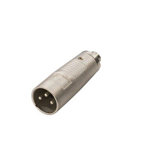 Adaptor – XLR 3 - Pinオスプラグto RCA Phonoメスソケットオーディオアダプタ   B01EH365HC