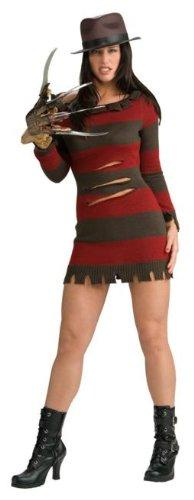 [Miss Krueger Costume - X-Small - Dress Size] (Women Freddy Krueger Costumes)