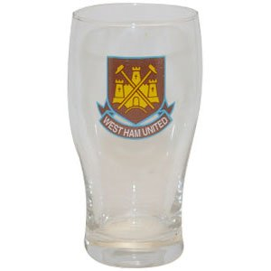 abd3ecab740f Image Unavailable. Image not available for. Colour  West Ham United Pint  Glass