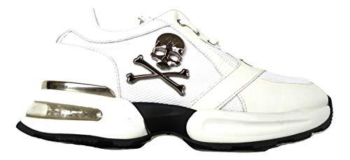 Plein uomo Bianco Sneakers Bianco da Philipp AFOTxnqO