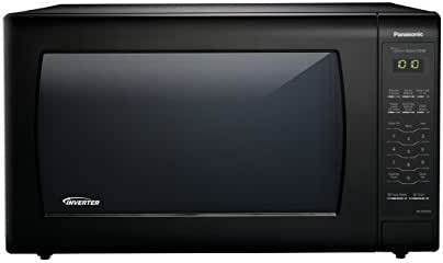 Panasonic NN-SN936B Countertop Microwave with Inverter Technology, 2.2  cu. ft. , Black