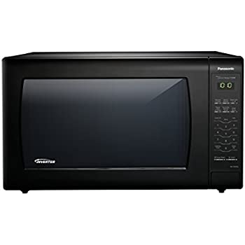 Panasonic NN-SN936B Countertop Microwave with Inverter Technology, 2.2 cu. ft. , 1250W, Black
