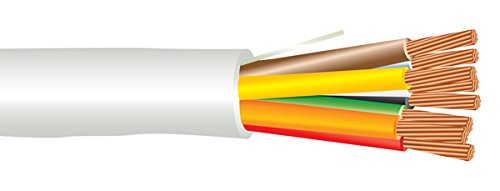 EWCS 18 AWG 8/C Str CMP Plenum Rated Non-Shielded Sound & Security Cable - 1000 Feet - Made in USA