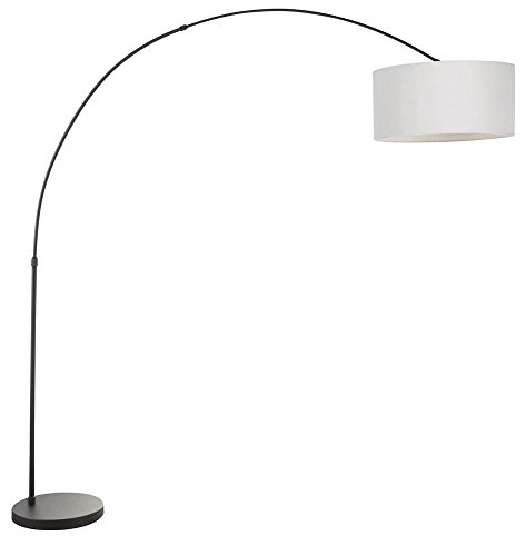 Lumisource Black Floor Lamp (Floor Lamp in Black and Gray Finish)