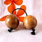 アジア 楽器 パチカ アサラト ナチュラル 単品 アジアン バリ タイ 雑貨 アフリカ 民族 シェイカー 打楽器 木の実 [並行輸入品]