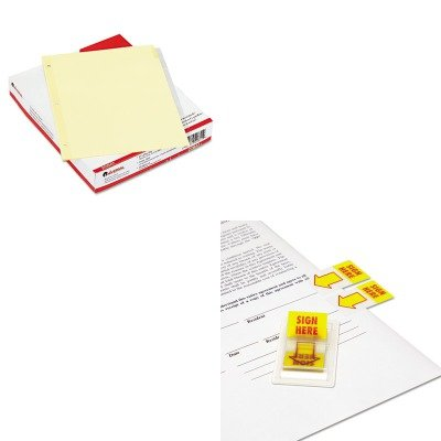 KITUNV20841UNV99005 - Value Kit - Universal Economical Insertable Index (UNV20841) and Universal Arrow Page Flags (UNV99005)