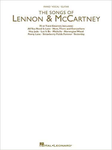 Songs Of Lennon Mccartney 75 Of Their Greatest The Beatles Paul