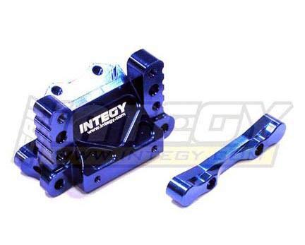 - Integy RC Model Hop-ups T6632BLUE Alloy Front Bulkhead for HPI E-Firestorm & Nitro Firestorm
