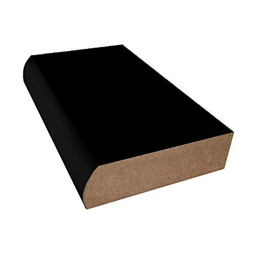 Bullnose Edge Laminate Countertop Trim - Black
