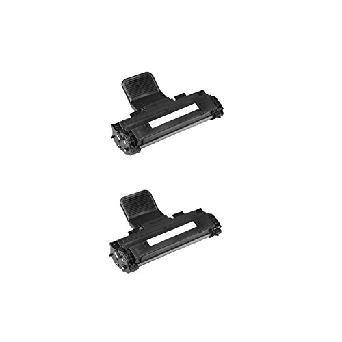 Remanufactured J9833 Toner Cartridge for Use in Dell 1100 1110 Series Printer-2Pack ()