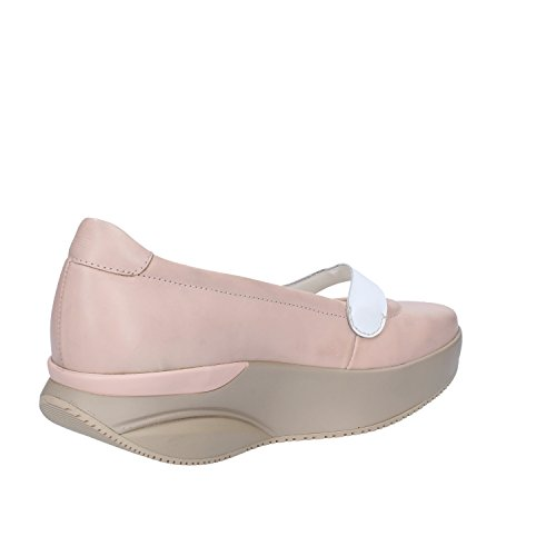 MBT Ballerinas Damen Leder (37 EU, Pink/Weiß)