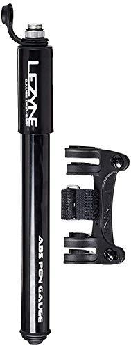 LEZYNE Gauge Drive Hp Bicycle Frame Mounted Pump, Black/Hi Gloss (Pump Drive Frame Bicycle)