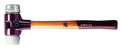Halder 3079030 'simplex soft-face Superplastic/suave' metal mazo, multicolor, 30 mm 30mm
