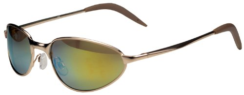 JiMarti AV5 Aviator Sunglasses Spring Hing revo lens Colors (Golden - Aviator Colour Golden