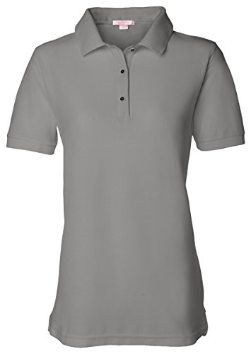 FeatherLite Ladies Pique Sport Shirt 5500 - Cool Grey - XXX-Large