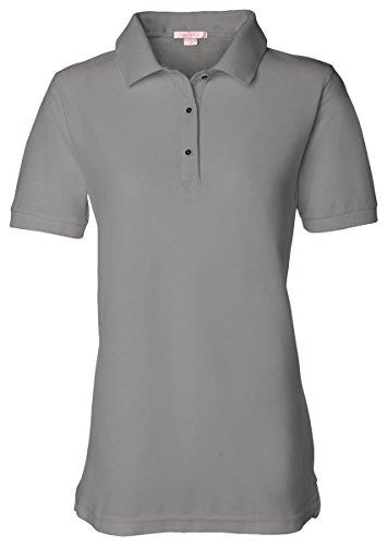FeatherLite Ladies Pique Sport Shirt 5500 - Cool Grey - XXX-Large