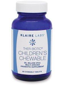 Klaire Labs Ther-Biotic Children Chewable, 60 Count