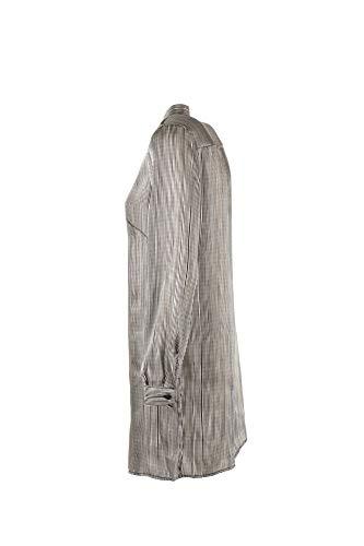 bianco Vicolo Primavera Nero Donna Estate Camicia S 2018 Tc0801 qSASZaIw