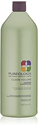 Pureology Clean Volume Weightless Shampoo | For Fine, Color Treated Hair | Sulfate-Free | Silicone-Free | Vegan