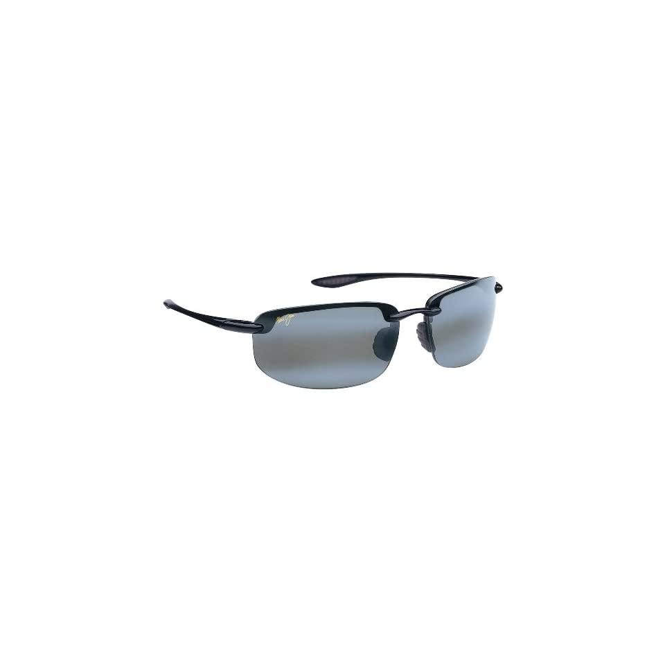 Maui Jim Hookipa 407 Sunglasses Color Black / Grey Lens Size Sunglasses