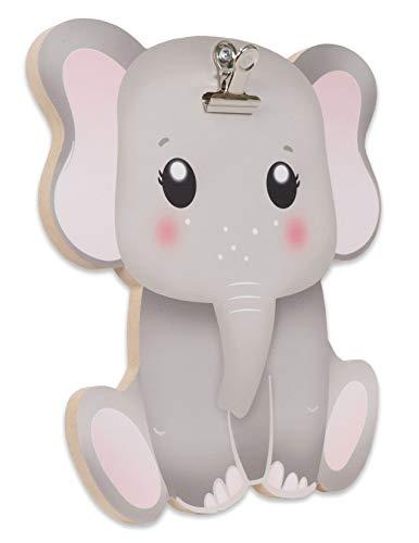 Artissimo Designs Clippixi Sweet Elephant Frame Easel - Recolor - Elephant Wall Easel