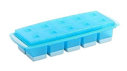 Mastrad bandeja cavidades souples-démoulage facile, polipropileno, tapa higiénica y olor, 10