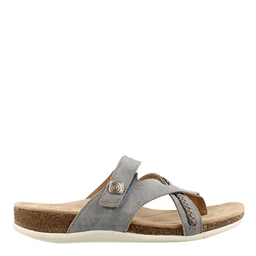 Earth Origins Women's, Brent Sandals Blue 10 M (Womens Shoes Earth Sandals)