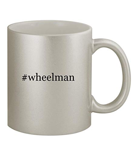 Price comparison product image #wheelman - 11oz Hashtag Silver Sturdy Ceramic Coffee Cup Mug