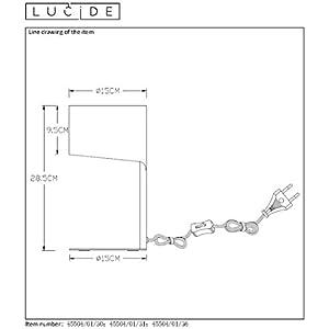 Lucide Knulle - lámpara de mesa-3