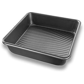 Amazon Com Usa Pan Bakeware Square Cake Pan 9 Inch