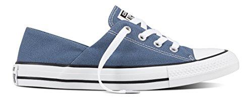 Converse Chuck Taylor All Star Coral, Zapatillas para Mujer Azul (Blue Coast/White/Black C555903)