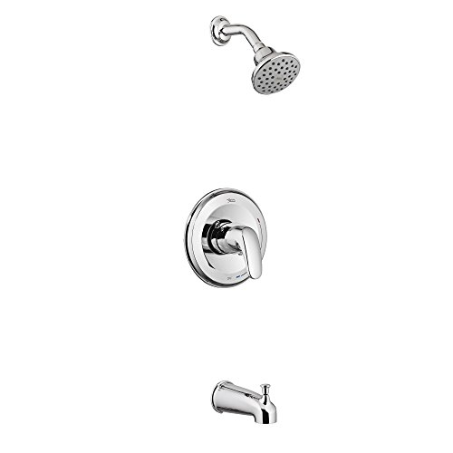 American Standard T075508.002 Colony Pro Water Saving PB Bath/Shower Trim Kit, Polished Chrome